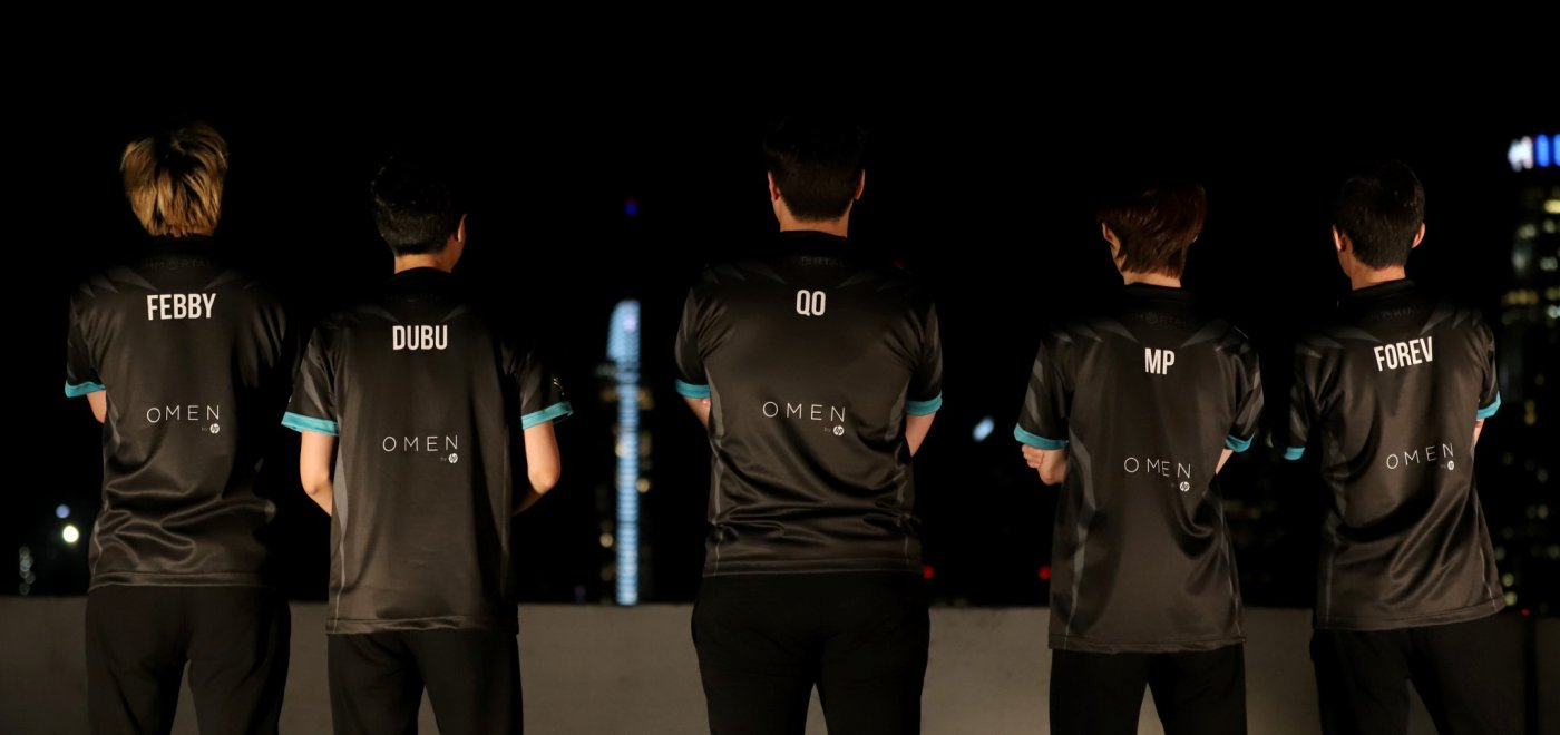 Former MVP Phoenix roster now Immortals based in North America.